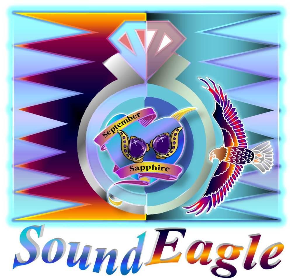 SoundEagle in Art, Poem and Gem ― September Sapphire