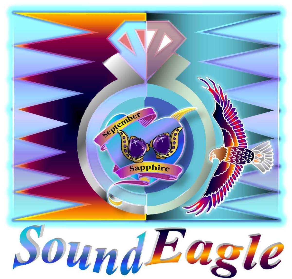 🦅 SoundEagle in Art, Poem and Gem ― September Sapphire 💍💎