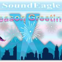 🔖 2012 in Review: SoundEagle's Annual Report with Season Greetings, Statistics, City Skyline, Mountains, Spotlights and Fireworks! 🏙🎇🌆🎆🌃