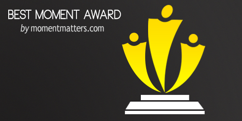 Best Moment Award, web awards, blogging awards, winners, nominations