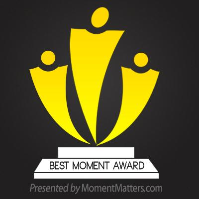 First Best Moment Award Winner