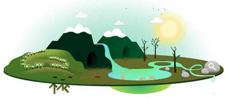 2013 Google Earth Day Doodle