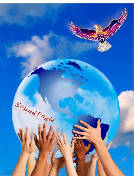 SoundEagle in Global Cooperation, Diversity, Teamwork, Unity, World Peace, Earth Day and Environmental Awareness