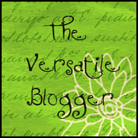 """Versatile Blogger Award Salvatore Vionito said: """"Hello Friend! I have nominated you for The Versatile Blogger Award, I hope you don't mind, but your blog really inspires me, and you really deserve it!"""""""