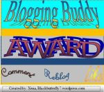Blogging Buddy Award