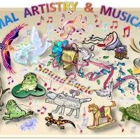 🦅 SoundEagle in Debating Animal Artistry and Musicality 🎵🐕🎶🐒🎹🐘🖼🐬🎨