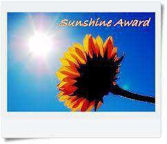 "Sunshine Award Josh Eddy from beardtalks.com said: ""Quite enjoyed your site, so I've decided to nominate you!"""