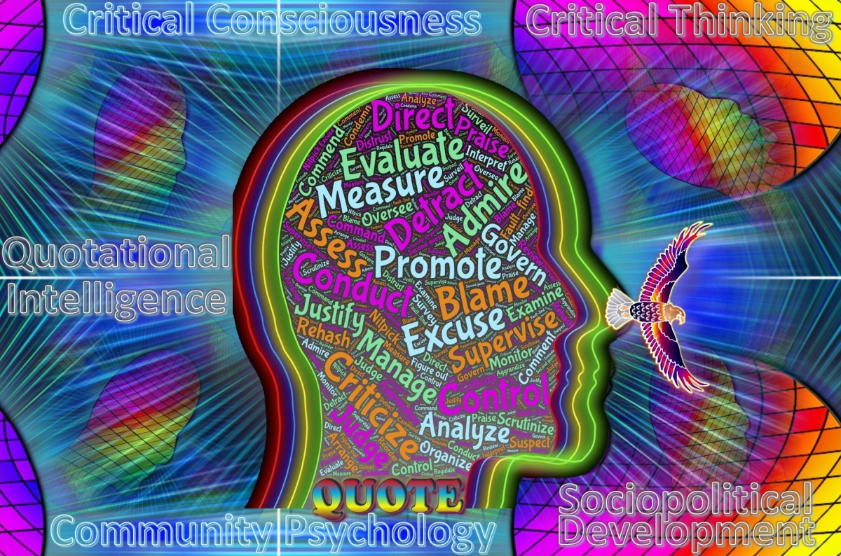 Quotational Intelligence, Critical Thinking, Critical Consciousness, Community Psychology and Sociopolitical Development