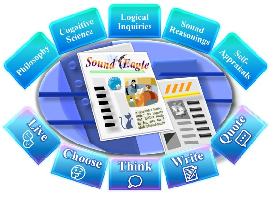SoundEagle in Live Choose Think Write Quote