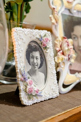 Framed 1955 Photo Displayed by Khai at Khim's Funeral (31 Aug 2019, 9:34 AM Saturday)