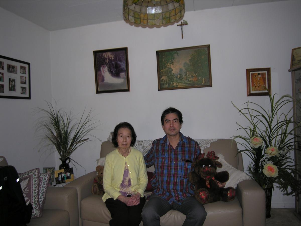Khai & Khim at Cecilia's Home (3 Aug 2013, 1:29 PM Saturday)
