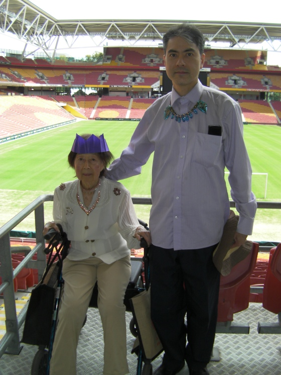 Khai & Khim at the Suncorp Stadium (25 Dec 2018, 1:32 PM Tuesday)