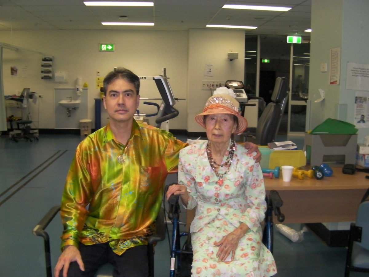 Khai & Khim in the Heart Health Clinic at the Royal Bribane and Women's Hospital (11 Oct 2018, 12:40 PM Thursday)