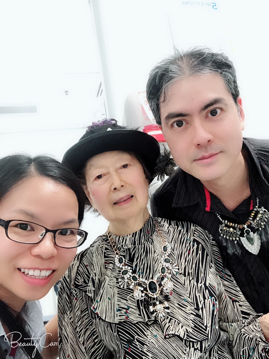 Khai & Khim with nurse Susan Huang at the Wound Management Clinic of the Royal Brisbane and Women's Hospital (6 Nov 2018, 12:11 PM Tuesday)