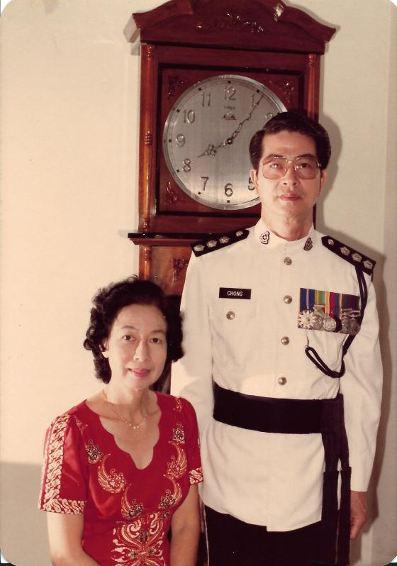 Khim and Her Husband at Home (Jan 1984)