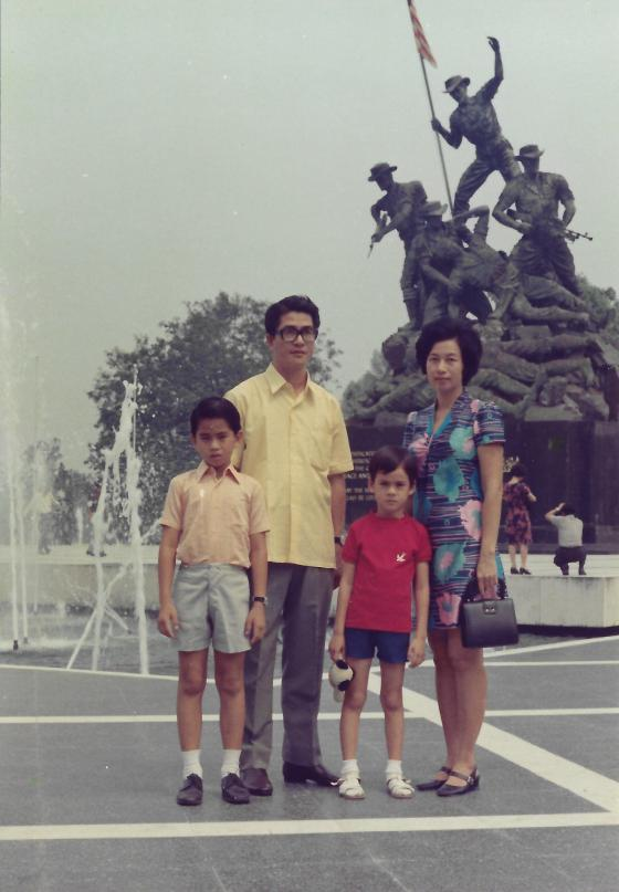 Khim and Her Young Family (Sep 1972)