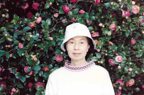 Khim at the Toowoomba Carnival of Flowers (22 Sep 1990)