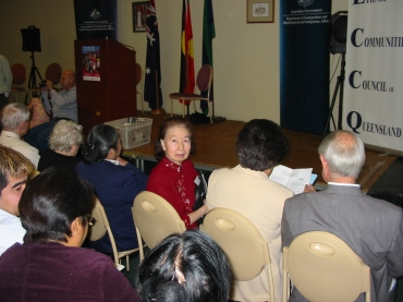 Khim becoming an Australian citizen on Friday, 26 August 2005, 11 AM