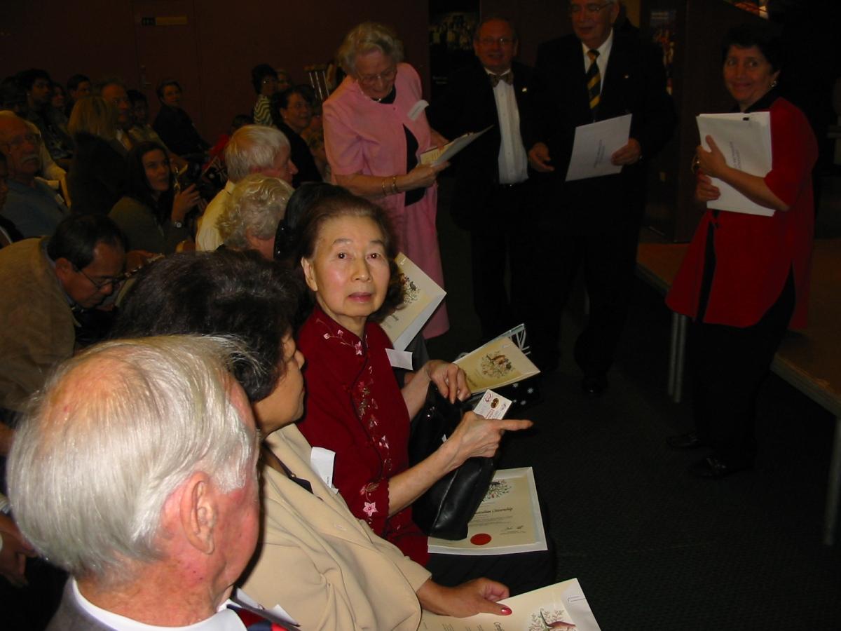 Khim becoming an Australian citizen on Friday, 26 August 2005, 11:42 AM