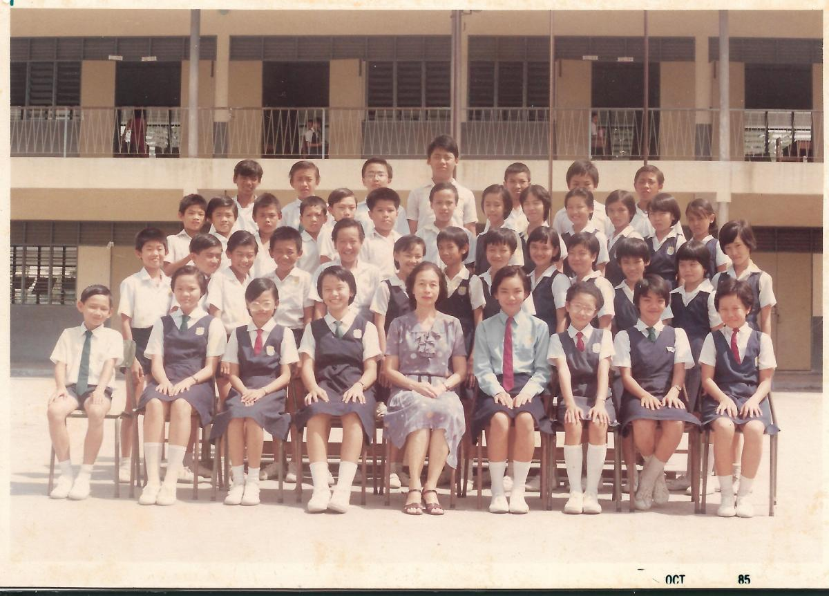 Khim's Last Complete Year as a School Teacher in 中華女校 Sekolah Rendah Jenis Kebangsaan (SRJK Cina) Chung Hua Primary School at Ampang Road, Kuala Lumpur, Selangor, Malaysia (Oct 1985)