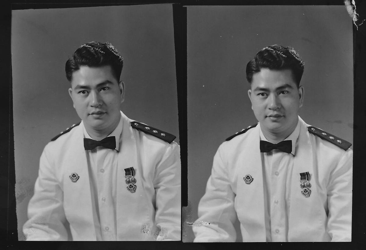 Khim's Prince Charming and Future Husband 鍾廷勤 (4 Oct 1957)