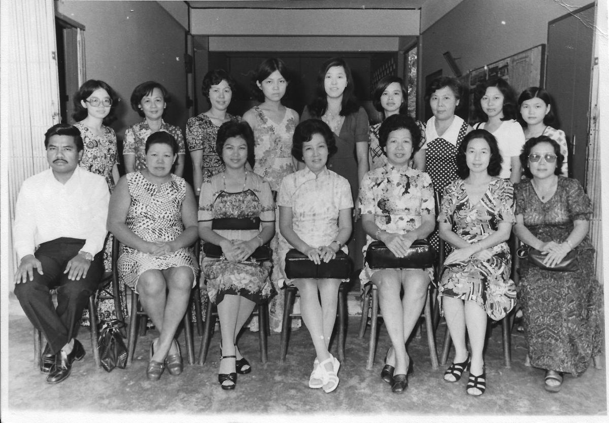 Khim's Third Year as a School Teacher in 中華女校 Sekolah Rendah Jenis Kebangsaan (SRJK Cina) Chung Hua Primary School at Ampang Road, Kuala Lumpur, Selangor, Malaysia (1975)