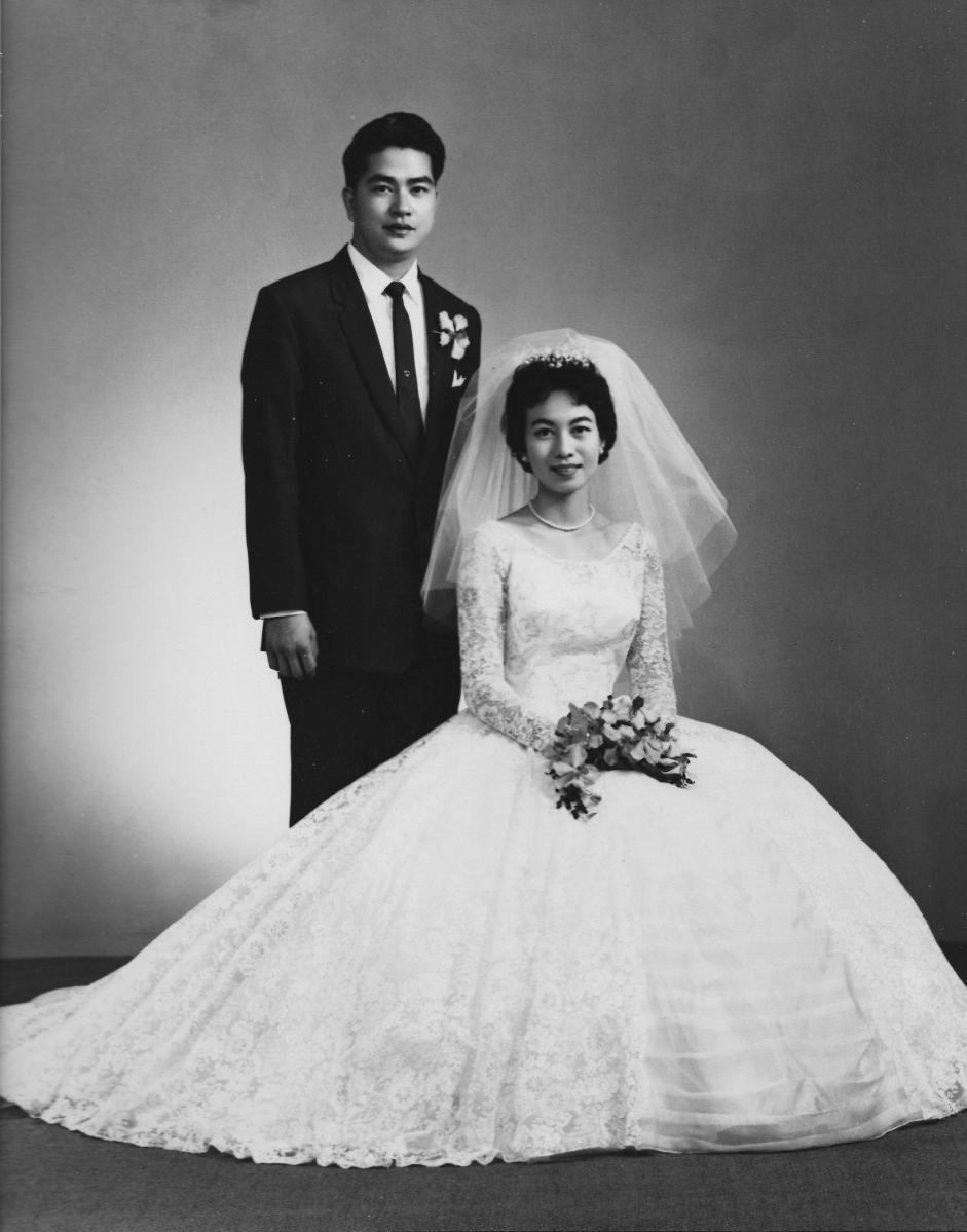 Khim's Wedding Photo (2 April 1961)