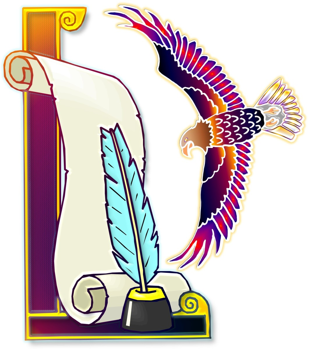 SoundEagle Writing Scroll